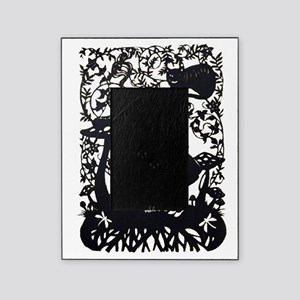 Alice in Wonderland Silhouette Picture Frame