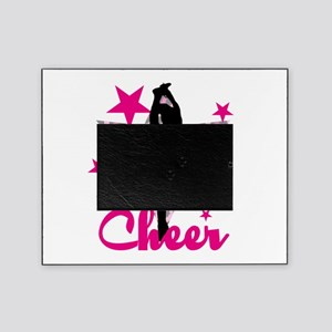 Pink Cheerleader Picture Frame