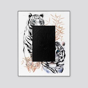 White Tigers Trans Picture Frame