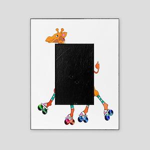Roller Skating Giraffe Picture Frame