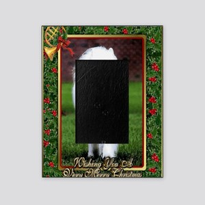 Samoyed Dog Christmas Picture Frame