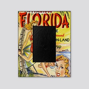 Vintage Florida Vacation Land Picture Frame