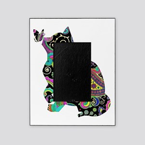 Paisley cat and butterfly Picture Frame