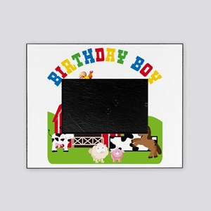 Barnyard 1st Birthday Picture Frame