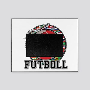 Albania Flag World Cup Futboll Ball Picture Frame