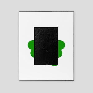 3 Leaf Kelly Green Shamrock with Ste Picture Frame