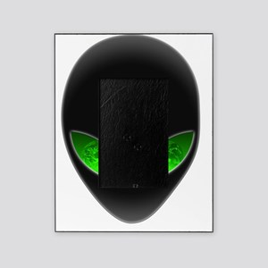 Cool Alien Earth Eye Reflection Picture Frame