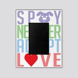 Spay-Neuter-Adopt-Love-2010 Picture Frame