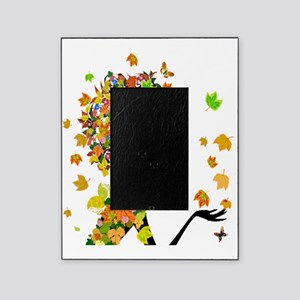 Flower Power Lady Picture Frame