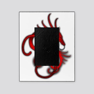 Norse Dragon - Red Picture Frame