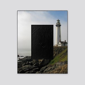 Lighthouse on Cliff Picture Frame