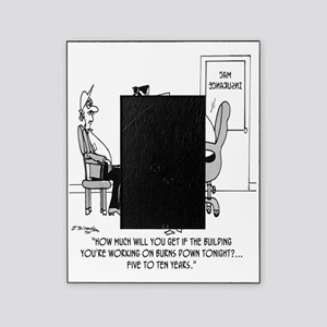 6128_insurance_cartoon Picture Frame