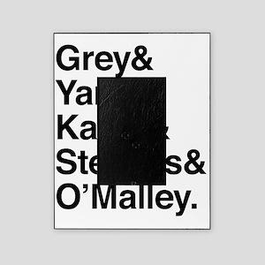 Grey, Yang, Karev, Stevens, Omalley Picture Frame