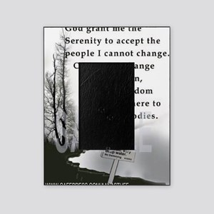 2-TWUSTED SERENITY Picture Frame
