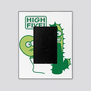 cactus_high_five Picture Frame