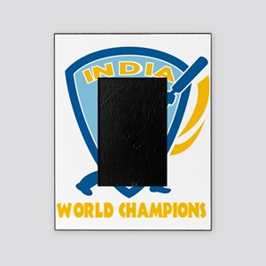 cricket india world champions Picture Frame