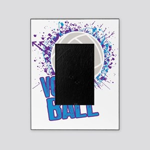 Volleyball Splatter Picture Frame
