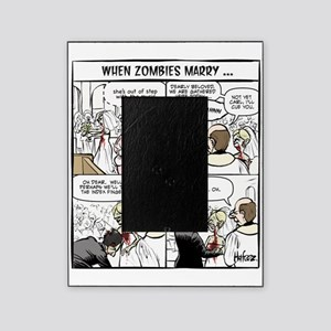 Zombie Wedding Picture Frame