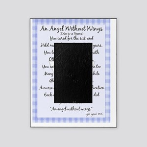 An Angel without wings BLUE Picture Frame