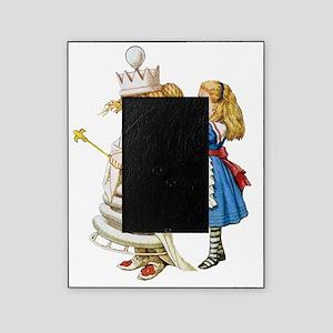 Alice  WHITE QUEEN SOLO_RD Picture Frame