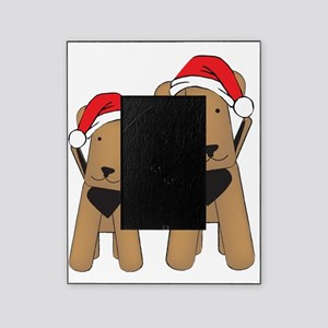airedales_xmas_cafepress Picture Frame