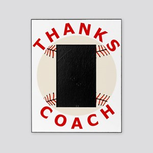 Baseball Thanks Coach Picture Frame