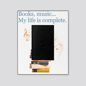 Books and music Picture Frame