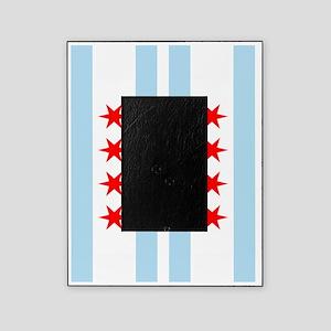 Chicago Flag Flip Flops Picture Frame