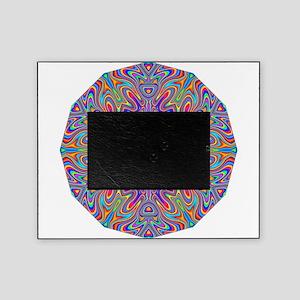 Digital Mandala 4 Picture Frame