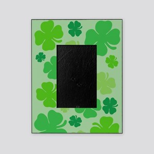 Lucky Green Clover Picture Frame