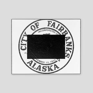 Vintage Fairbanks Alaska Picture Frame