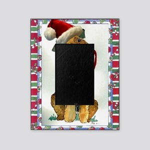 Airedale Terrier Dog Christmas Picture Frame