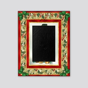 Airedale Terrier Christmas Picture Frame