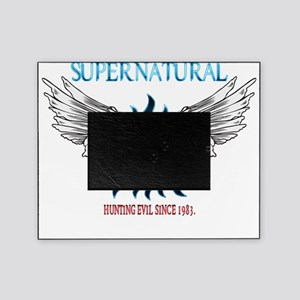 Supernatural Protection symbal Hunti Picture Frame