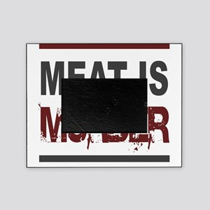 Meat Is Murder squarer-2 Picture Frame