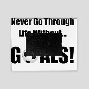 Soccer Goals Black Picture Frame