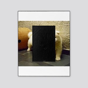 LS samoyed puppy Picture Frame