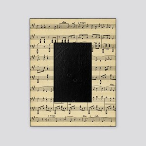 Antique Sheet Music Picture Frame