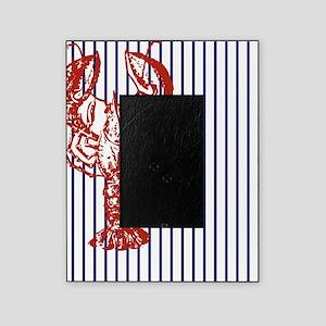 nautical stripes vintage lobster Picture Frame