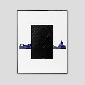 Mosaic Skyline of Paris France Picture Frame