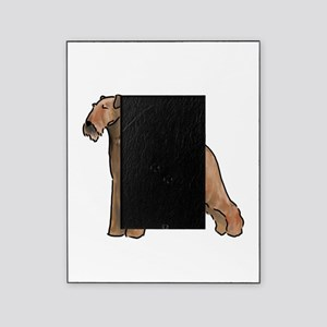airdale terrier dog breed Picture Frame