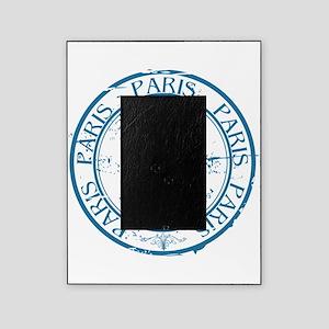 Paris travel stamp Picture Frame