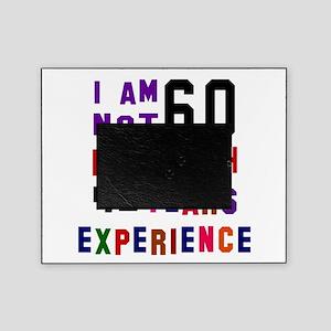 60 Birthday Designs Picture Frame
