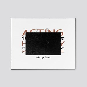 t-shirt-black-burns1 Picture Frame