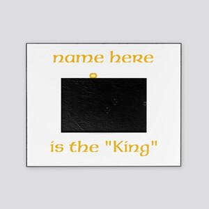 Personlized King Shirt Picture Frame