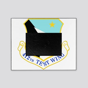 USAF Air Force 412th Test Wing Shield Picture Fram