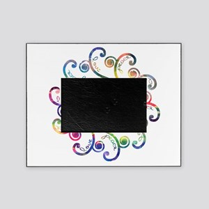 Cosmic Peace Love Picture Frame