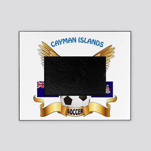 Cayman Islands Football Design Picture Frame