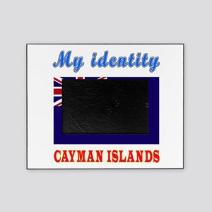 My Identity Cayman Islands Picture Frame