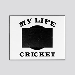 My Life Cricket Picture Frame